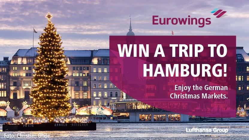 Eurowings Christmas Hamburg