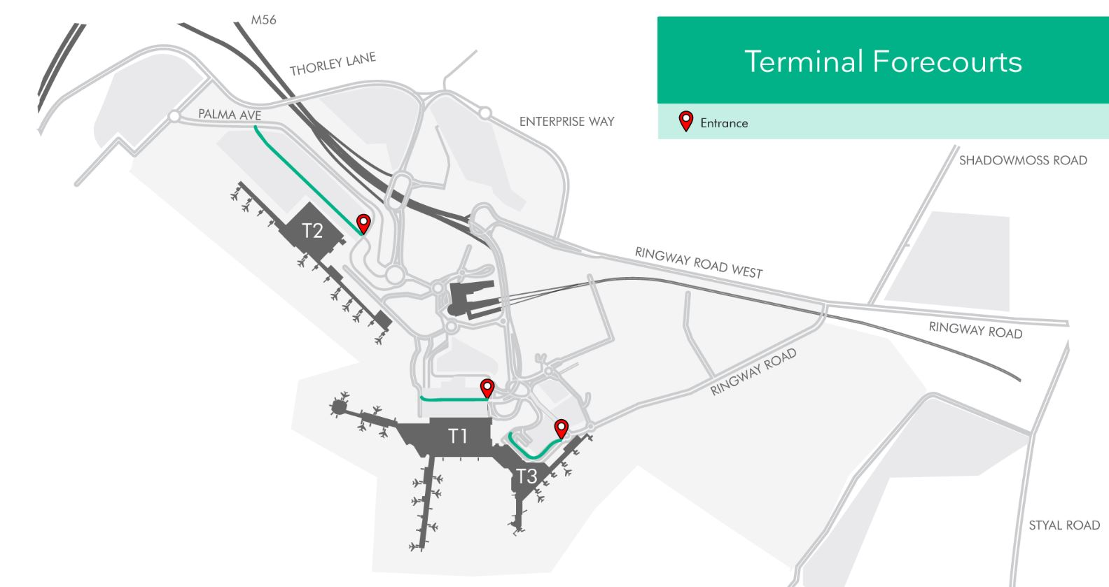 Pick Up And Drop Off Info Manchester Airport
