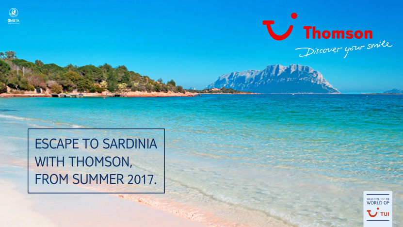 Sardinia with Thomson at Manchester Airport