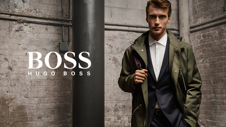 Hugo Boss at Stansted Airport