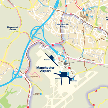 Cycle Network to and from Manchester Airport