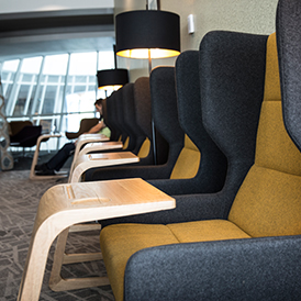 Terminal 3 Escape Lounge Seating