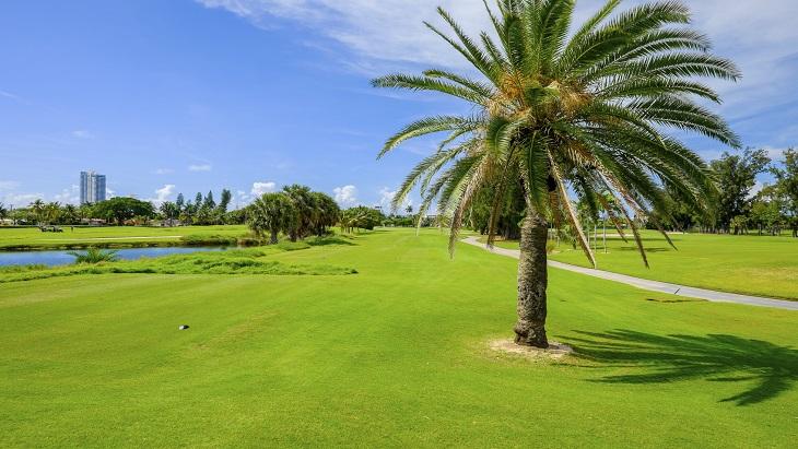 Miami, Florida golf course