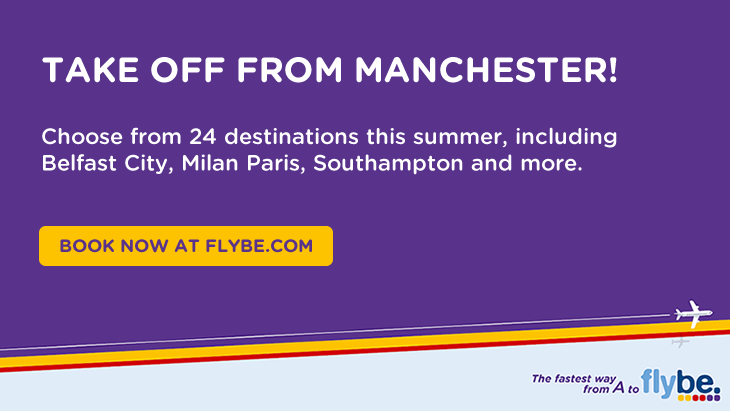 Flybe at Manchester Airport