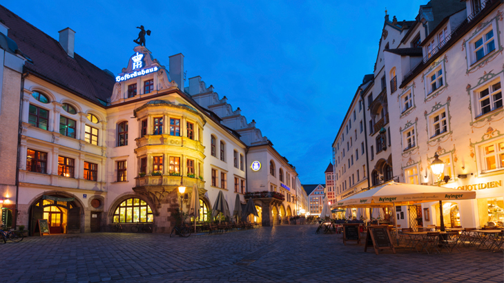 Munich Beer Halls