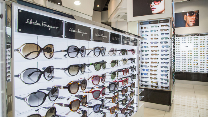Sunglasses Boutique at London Stansted Airport