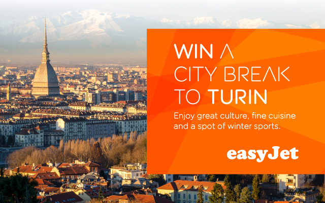 EasyJet Turin competition Manchester Airport