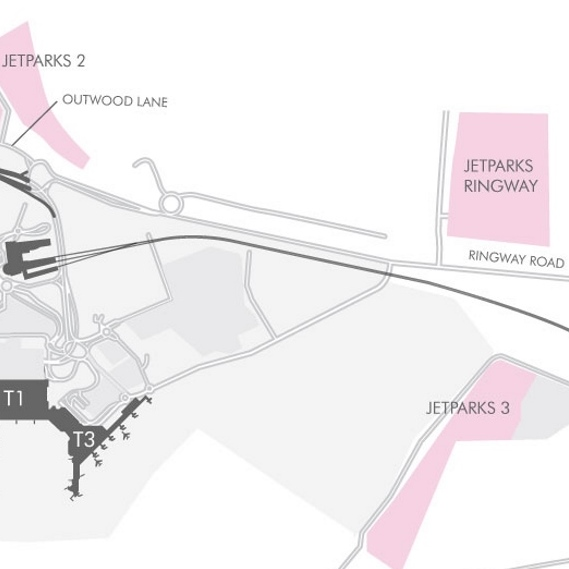 JetParks Ringway Car Parking Maps