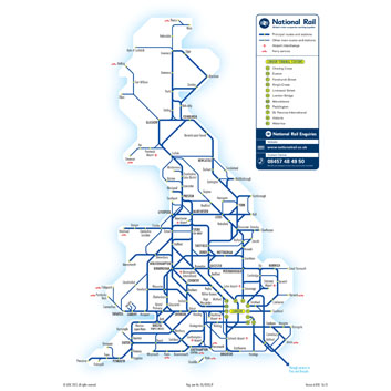 National Rail Network Image