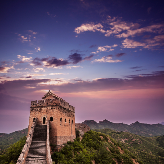 The Great Wall Dusk