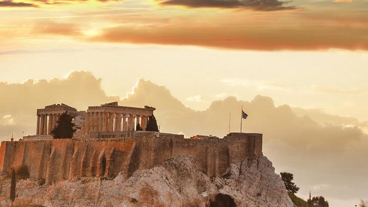 Acropolis dusk