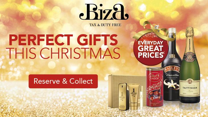 Biza Christmas at Manchester Airport