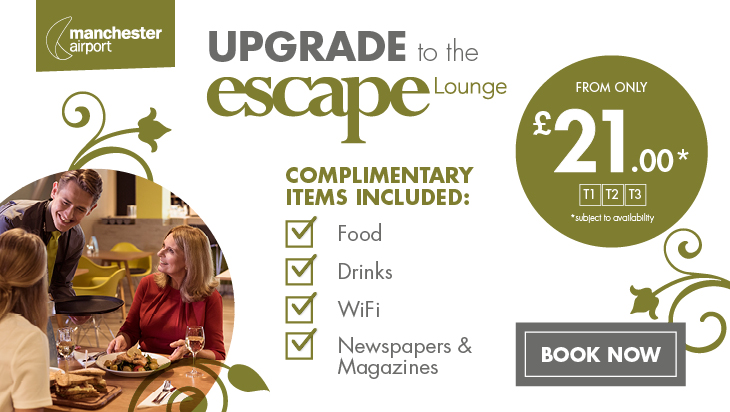Escape Lounge Homepage Banner