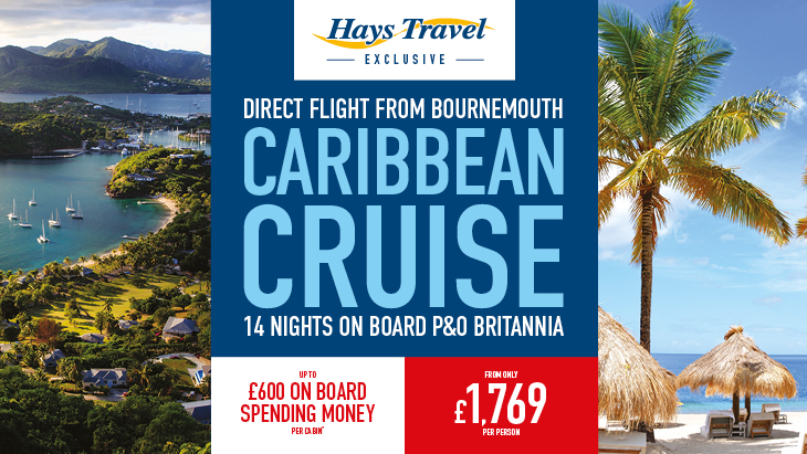Hays Travel Exclusive Caribbean Charter Bournemouth Airport