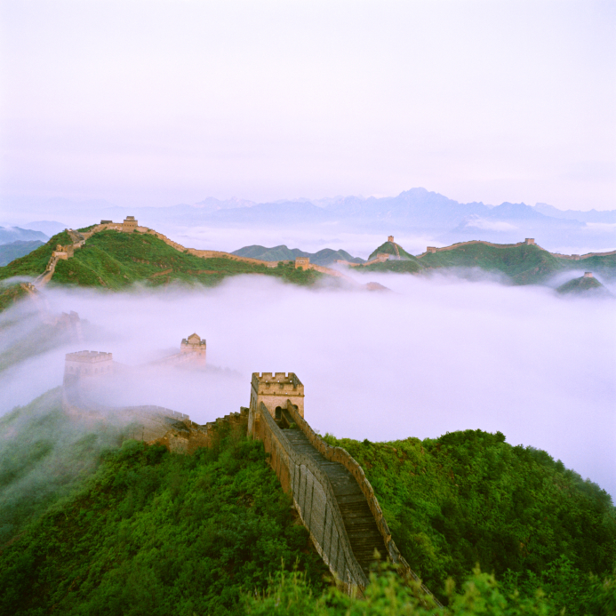 The Great Wall fog