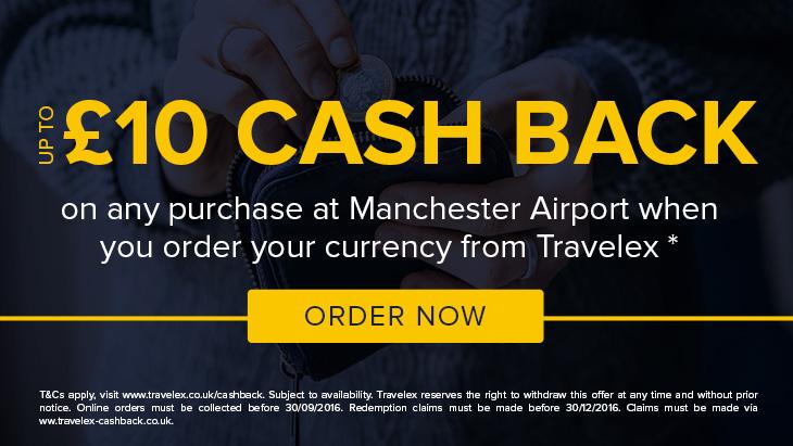 Travelex cashback