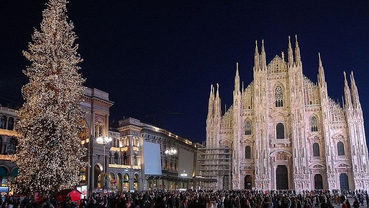 Milan Duomo New Year
