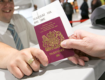 Immigration and Passport Image