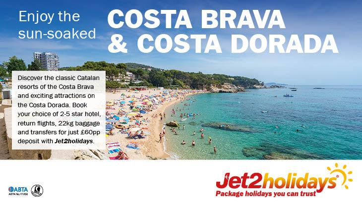 Jet2holidays Costa Brava and Costa Dorada