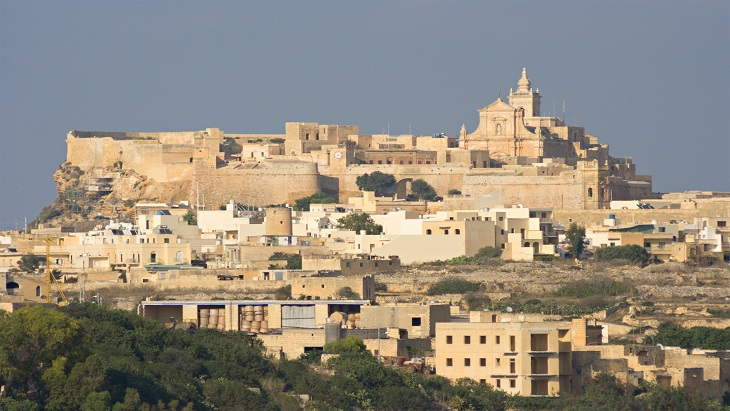 Gozo from Manchester Airport