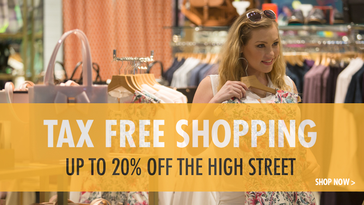 Tax Free Shopping at East Midlands Airport