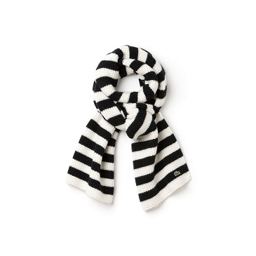 Lacoste striped scarf