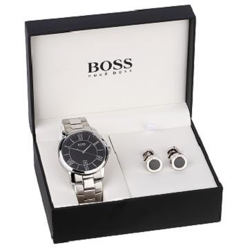 Hugo Boss Watch & Cufflink Set