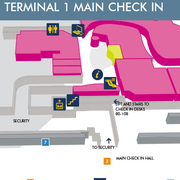 Terminal 1 Main Check In