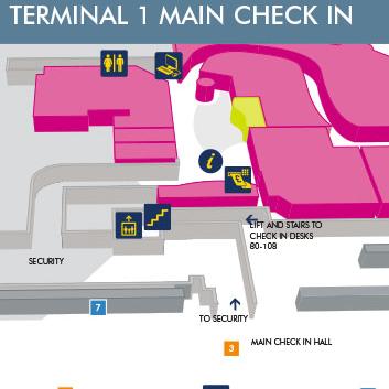 Terminal 1  Manchester Airport