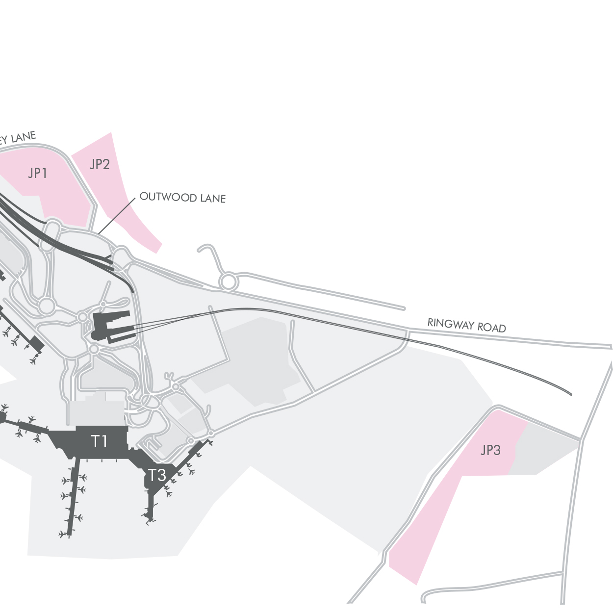 JetParks 3 Car Parking Maps