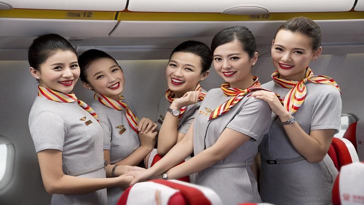 Hainan cabin crew
