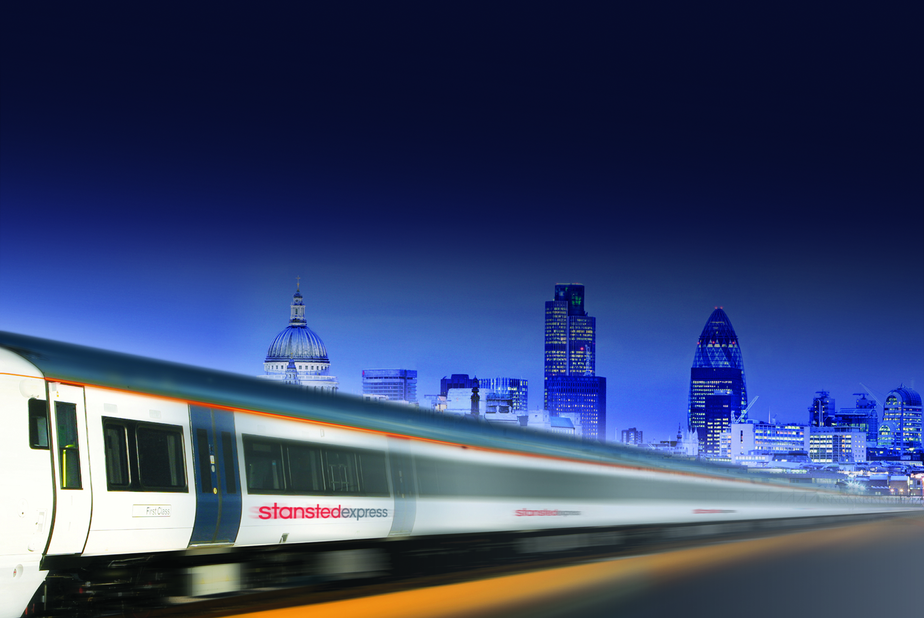 Trains to London Image