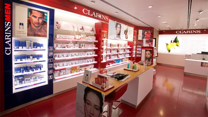 Clarins manchester airport for Clarins salon