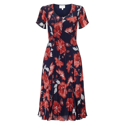 English Rose Print Dress East