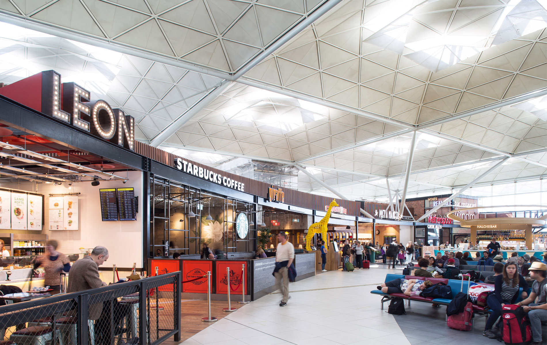 Phase 2 Of 80 Million Transformation Media Library Stansted Airport