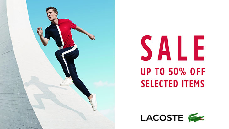 Lacoste at Stansted